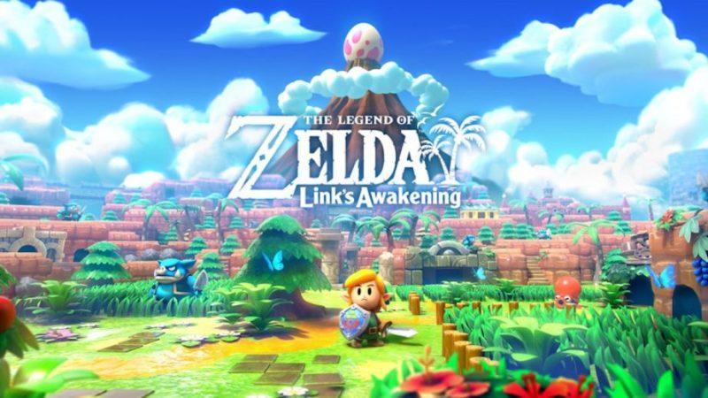Link's Awakening promo art