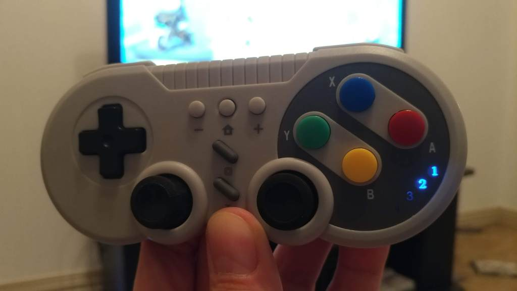 The TechKen SNES pro controller for Nintendo Switch, Android and PC