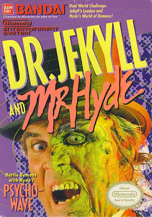 Jekyll and Hyde NES Spooky retro games