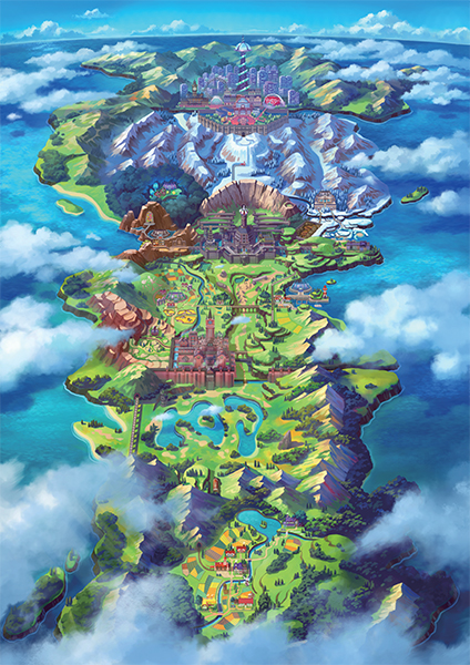 Pokemon Galar Region