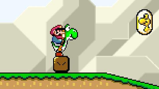 Little Mario and Yoshi