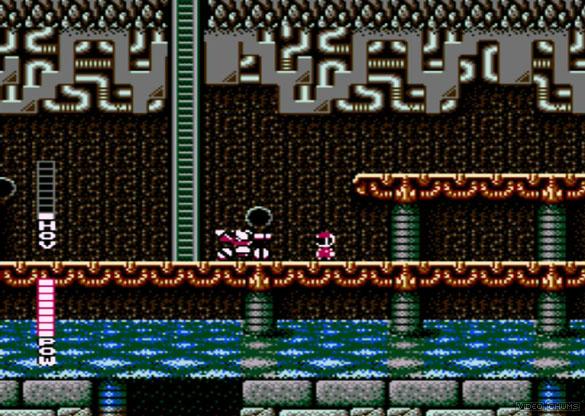 Blaster Master NES gameplay