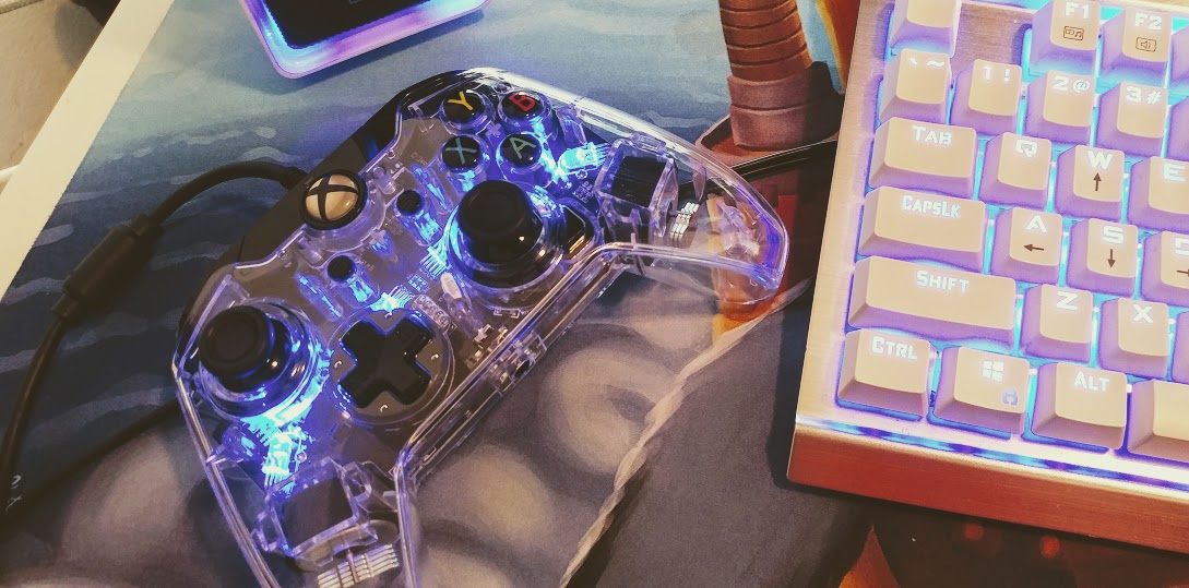 Prismatic Afterglow controller - PDP Gaming