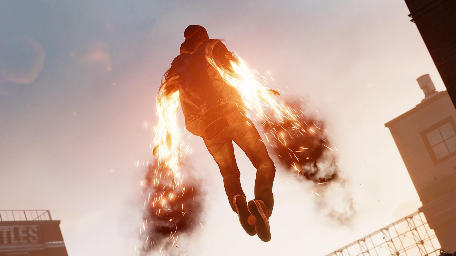 inFAMOUS Second Son hover