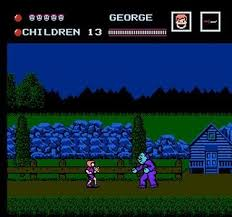 Friday the 13th for the NES - purple Jason