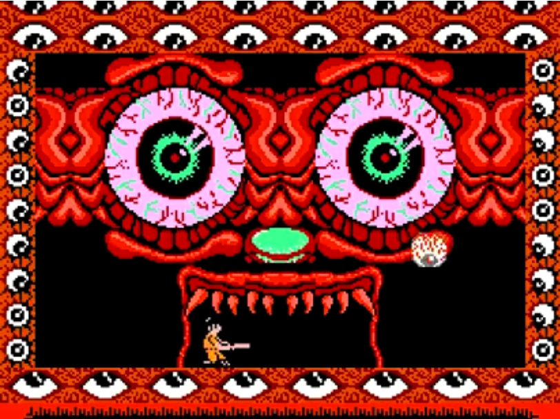 Monster Party NES game review final boss