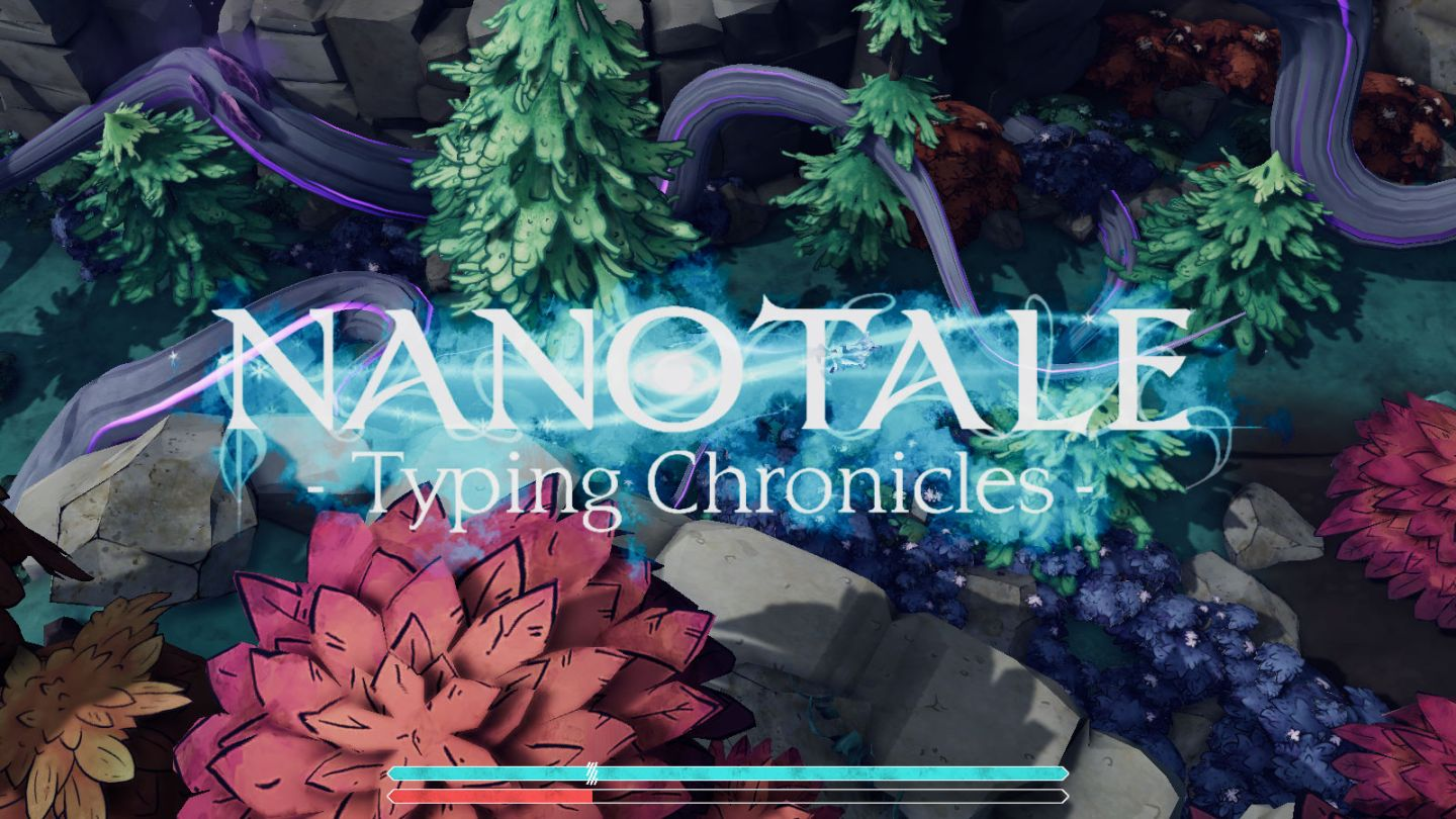 Nanotale Typing Chronicles splash