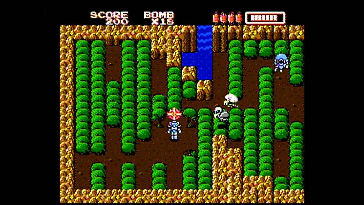 RoboWarrior NES gameplay