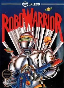 RoboWarrior NES cover art