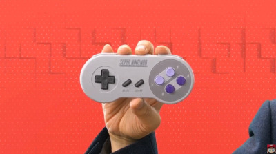 Super Nintendo Games on Switch - Wireless SNES controller