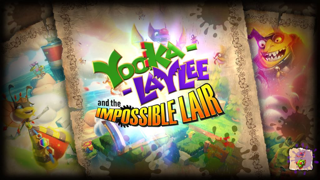 Yooka-Laylee and the Impossible Lair loading screen