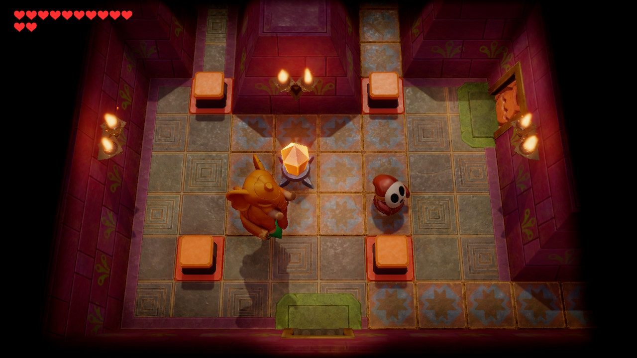 Zelda Link's Awakening gameplay