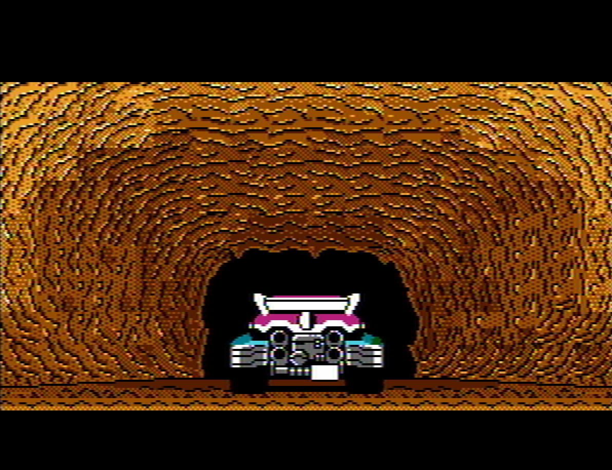 Blaster Master review - tank takes off intro
