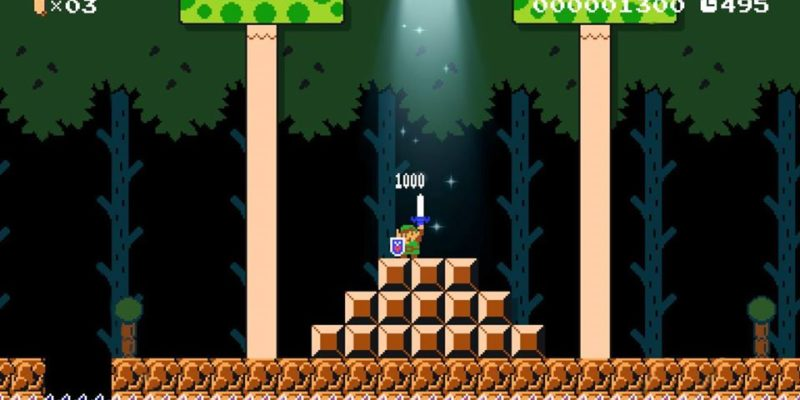 Mario Maker 2 Zelda update