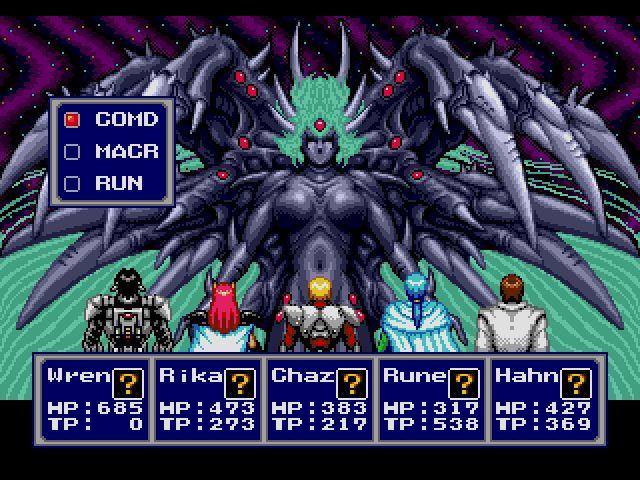 Sega Genesis RPGs - Phantasy Star IV