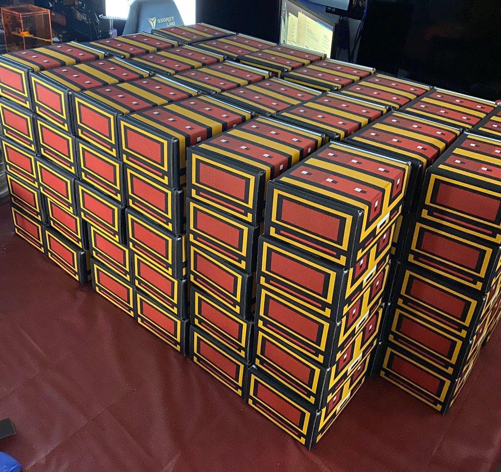 Retro Game Treasure review - retro video game crates ready to ship.