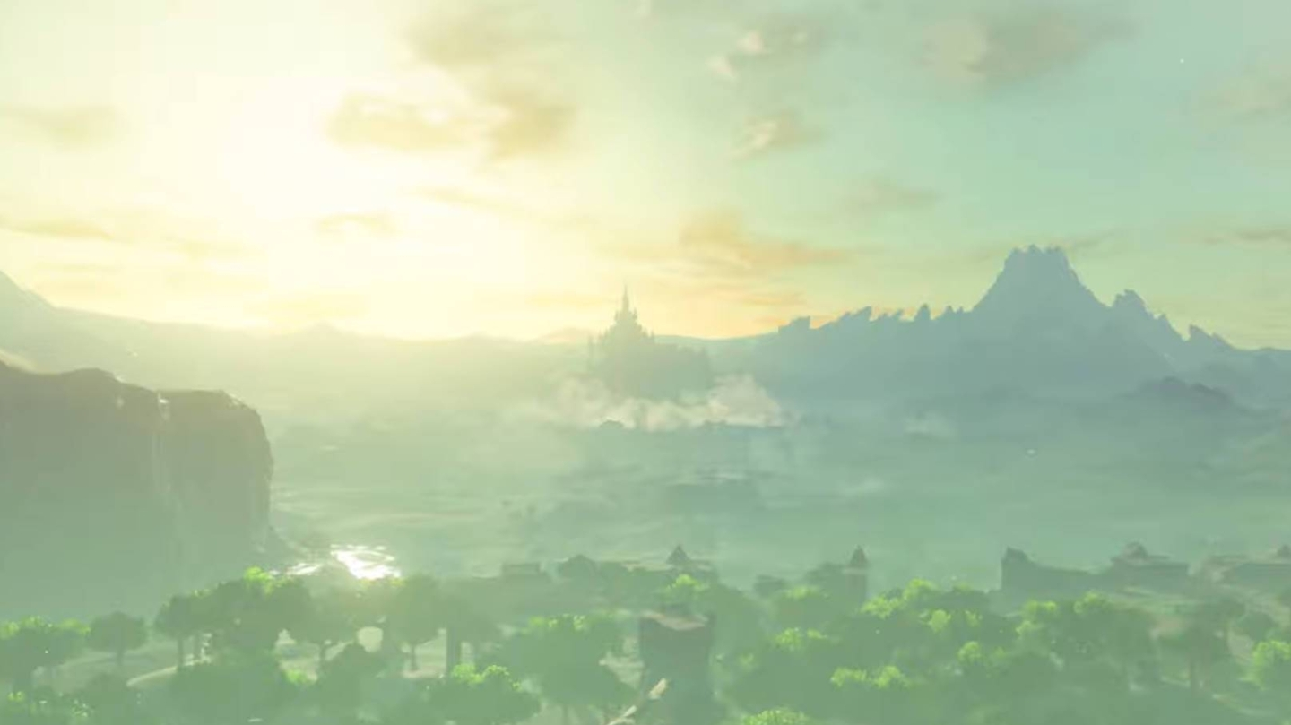 Breath of the Wild 2 Leaks - Hyrule Castle is levitating